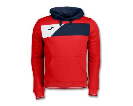 Jacket Crew ii Hooded Red