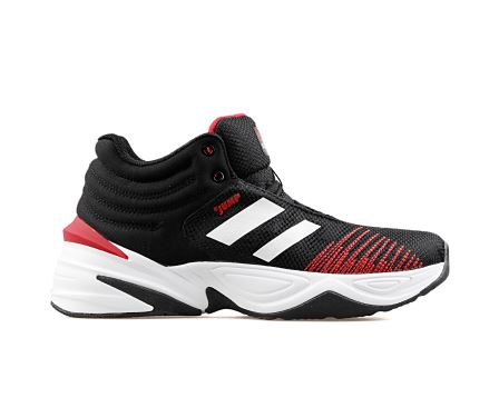 24774 M B Black White Red