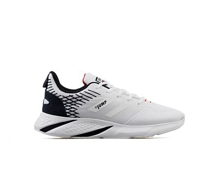 26468 G E White Navy Red