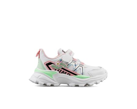 C White Lt Pink Silver Mint