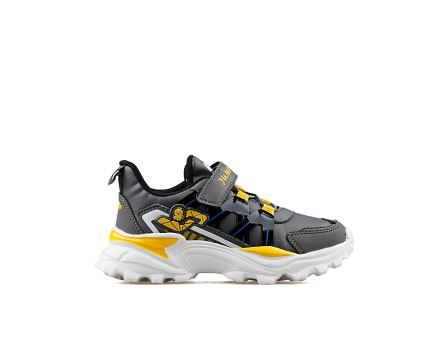 E Dk Grey Yellow Black