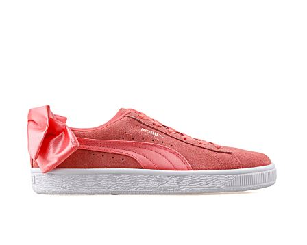 Suede Bow Wn S Shell Pink-Shell Pink