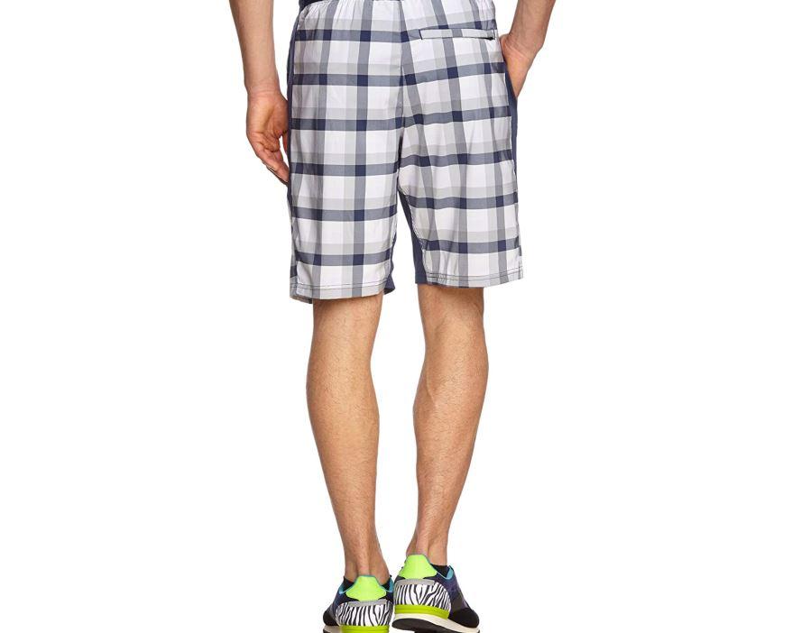 Plaid Woven Short
