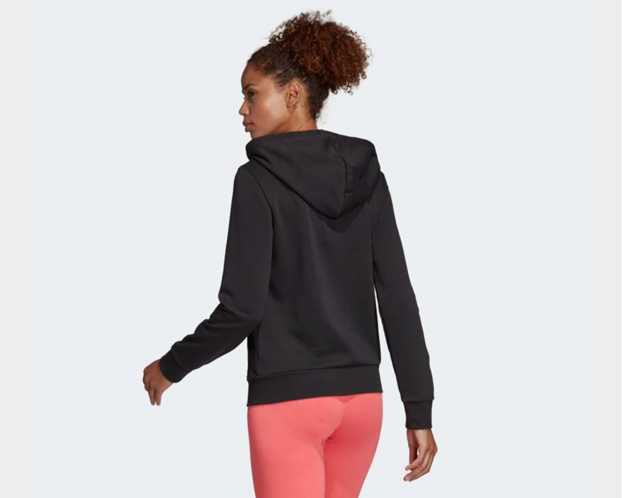 W Essentials Linear Pullover Hoodie