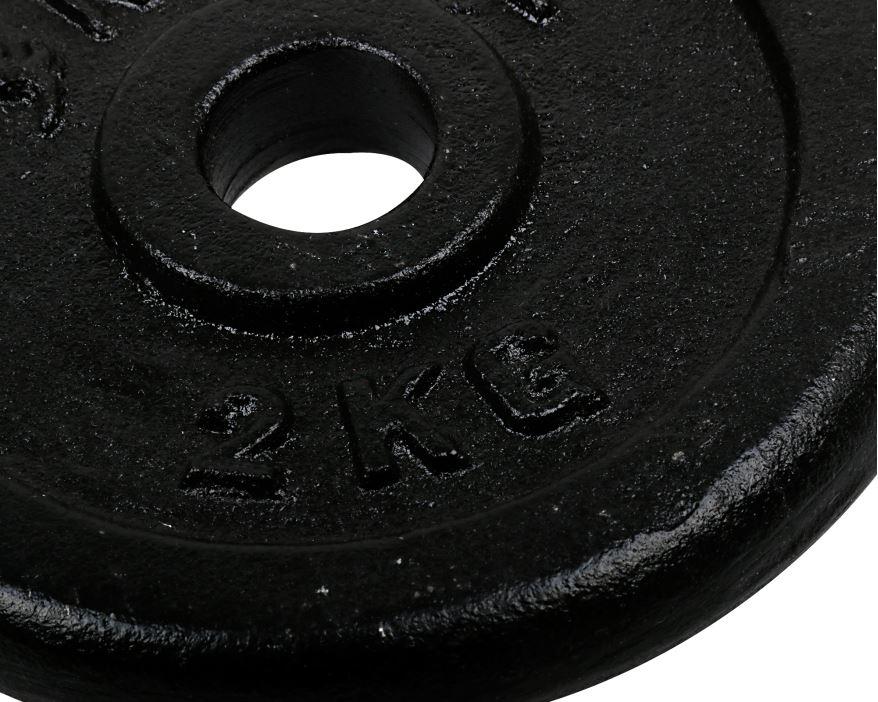 Döküm Plaka Siyah 2 Kg